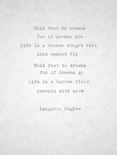 langston hughes writing style