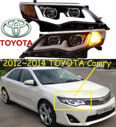 588.80$  Watch now - http://ali9nh.worldwells.pw/go.php?t=32719805960 - US Version! Camry headlight,2012~2014,Free ship! Camry fog light,2ps/set+2pcs Ballast,Camry driver light,Camry