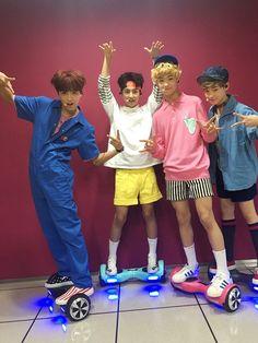 NCT_DREAM [160827] Haechan (Donghyuck), Renjun, Jisung, Chenle
