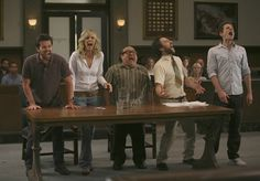 Any one of these amazing people from Always Sunny in Philadelphia