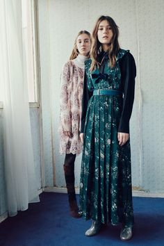 See by Chloé Fall 2016 Ready-to-Wear Fashion Show **pink dress and boot combo