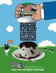 ben and jerry's magazine ads - Google Search