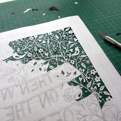 Paper Cutting Art Tutorials | How to Cut Intricate Patterns in Paper | Projects for Beginners by peggy