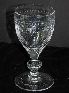 RARE HTF William Yeoward Isabel 10 oz  Water Goblet (s) Signed 10 Available  #WilliamYeoward