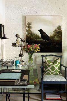 I like the wall art - The Crow
