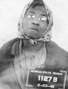 The Only Woman Electrocuted in Georgia's Electric Chair  Such is the story of Lena Baker, an African-American mother of three, who was electrocuted at the Georgia State Prison in Reidsville.