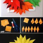 Autumn+paper+leaves