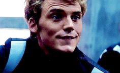 Finnick's (or maybe Sam's) goofy adorable smile