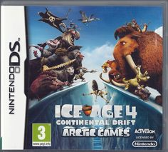 ce5550169f9f79 Nintendo Ds Ice Age 4  Continental Drift - Arctic Games (plays 3ds in 2D)