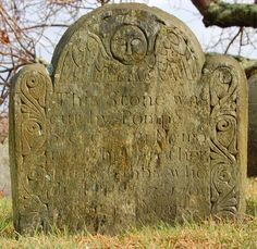 The Beautiful Forgotten and Moving Graves of New England's Slaves