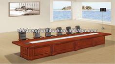 ct 7343 moderna mesa de conferencia-imagen-Mesa de madera-Identificación del producto:1008026800-spanish.alibaba.com
