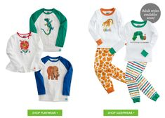 The World of Eric Carle & @Gymboree now have Eric Carle sleepwear - playwear and pajamas! So exciting! #spon