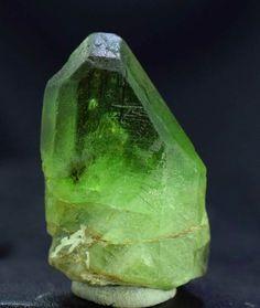 Peridot Crystal , Olivine Peridot , Rutile Peridot Crystal from Sapat Pakistan - 22 Gram , 36*23*17 mm - Minerals Paradise