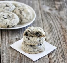 Lately, I've received a lot of comments on my best soft chocolate chip cookies post, which uses cornstarch to keep them thick and soft. It got me the idea to try making another flavor cookie using cornstarch. I already have a cookies and cream cookie I love. The cookies come out thin, crispy and chewy. …