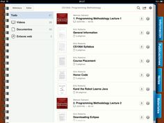 Programming Methodology course in iTunes U