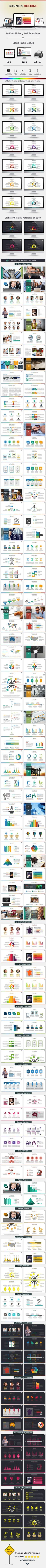 Business Holding Presentation Template (PowerPoint Templates)