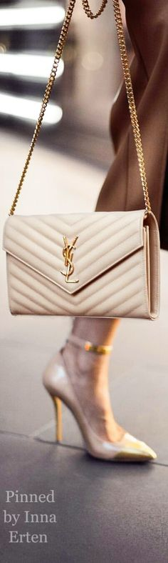 YSL purse Fashion accessories, style inspirationCheck out more pins like this from @beauteeJunkeez