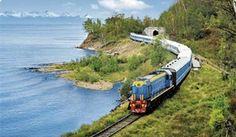 Transsiberian Railway-Moscow to Beijing.