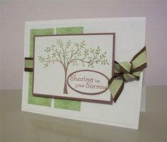 SC239 Thoughts & Prayers Sympathy by LaLatty - Cards and Paper Crafts at Splitcoaststampers