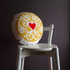 c901a2b61a59 Image of Jammy Heart 2014 Printed Cushion - available at http   www.