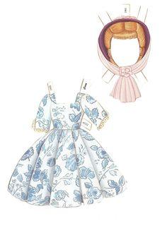 Madame Alexander Collection - Cissy Paper Doll by Peck Aubry - edprint2000paperdolls - Picasa Webalbum