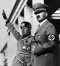 Hitler y Mussolini, dos protagonistas de la historia de Europa en el Siglo XX