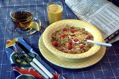 Breakfast cereal (or just cereal) is a food made from processed grains that is often eaten as the first meal of the day. Description from quazoo.com. I searched for this on bing.com/images