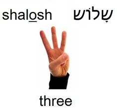 three #hebrew