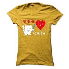 Nurse Really Love Cats