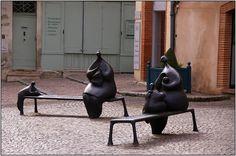 'Les Tricoteuses' de Toutain .Moissac. Midi-Pyrenees