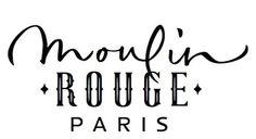 Designspiration — Chez Porchez: Moulin Rouge lettering:refused