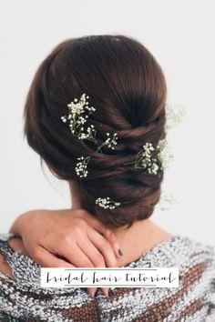 wedding season easy updo hair tutorial