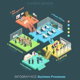 Education Micro People Flat 3d Web Isometric Infographic Concept Stock Vector - Image: 52070317