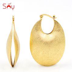 Sunny Jewelry Maxi Statement Jewelry Earrings 2018 Big Oval Hoop Earrings Water For Women Girls Big Earrings For Party Wedding-in Hoop Earrings from Jewelry & Accessories on Aliexpress.com | Alibaba Group