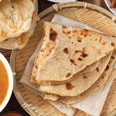 Chapati - pâinea indiană - Bonduelle Chapati, Indiana, Bread, Breakfast, Ethnic Recipes, Food, Morning Coffee, Eten, Bakeries