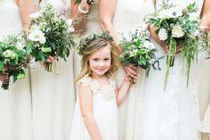 Wedding Gown: Custom Tailored Pronovias - http://www.stylemepretty.com/portfolio/custom-tailored-pronovias Floral Design: Feather Acres - http://www.stylemepretty.com/portfolio/feather-acres Photography: Troy Grover Photographers - http://www.stylemepretty.com/portfolio/troy-grover-photographers   Read More on SMP: http://www.stylemepretty.com/2014/11/26/california-spring-garden-wedding/