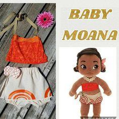 Baby Moana Costume Baby Moana Outfit Infant Moana Toddler