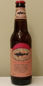 The 90 Minute IPA from Dogfish Head Brewery.  A completely unique IPA.  One of my favorite IPA's.