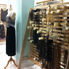 jewelry display idea... too department store-y???