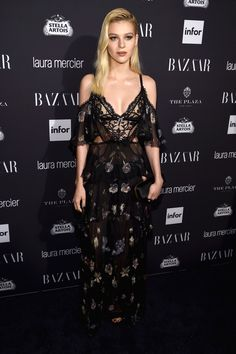 Nicola Peltz in Alexander Mcqueen See All the Best Red Carpet Looks from This Year's Epic Bazaar Icons Party