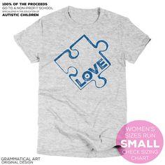 Autism Awareness Shirt Autism Shirt Autism T by GrammaticalArt