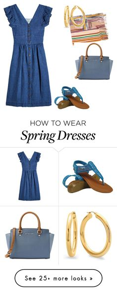 """""""Spring"""" by apvick on Polyvore featuring Missoni, Sea, New York and MICHAEL Michael Kors"""