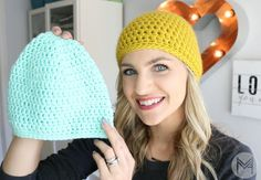 How to Crochet a Beanie – Beginner Tutorial