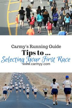What You Need To Know: Tips On Selecting Your First Race #running #fitness #tips…