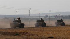 Offensive in Syrien: Türkische Armee beschießt Kurden