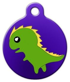 A cute little monster for your cute little monster. Dog Id Tags, Pet Tags, Nerd Chic, Boys Wear, Pet Id, Little Monsters, Tag Art, Pet Supplies, Dog Cat