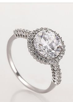 Diamantea anello solitario 118796- Hse24.it
