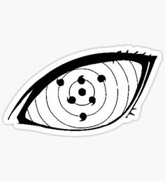 Naruto stickers featuring millions of original designs created by independent artists. Naruto Eyes, Naruto Kakashi, Naruto Art, Anime Naruto, Naruto Tattoo, Anime Tattoos, Dark Art Drawings, Pencil Art Drawings, Anime Stickers