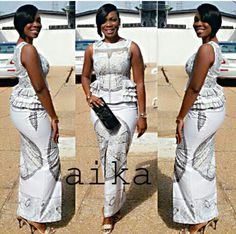 Yes, we excitedly bring to you these admirable Ankara styles…Easter Edition! It's always a good day for us at Wedding Digest when we come across something that makes us want… Ankara Skirt And Blouse, Ankara Dress Styles, Kente Styles, African Print Dresses, African Dresses For Women, African Print Fashion, Africa Fashion, African Attire, African Wear