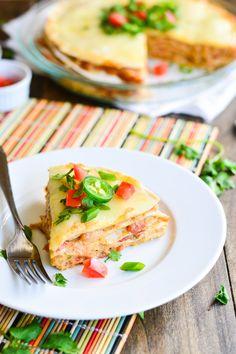 Creamy Chicken Taco Pie | Garnish & Glaze